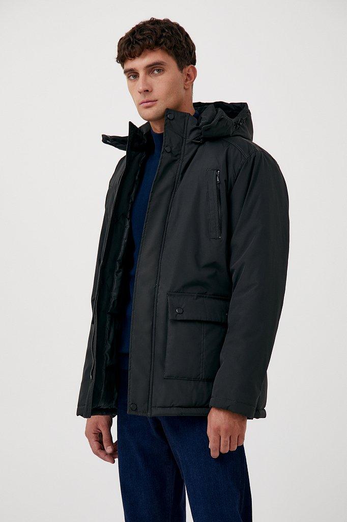 Удлиненная куртка в стиле casual, Модель FAB210107C, Фото №3