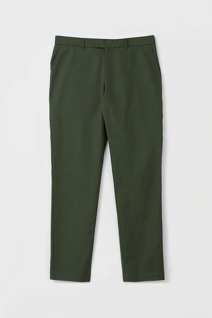 Мужские брюки с зауженным кроем брючин, Модель FAB21020, Фото №6