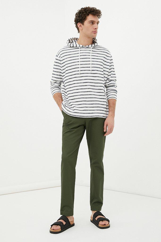 Мужские брюки с зауженным кроем брючин, Модель FAB21020, Фото №1