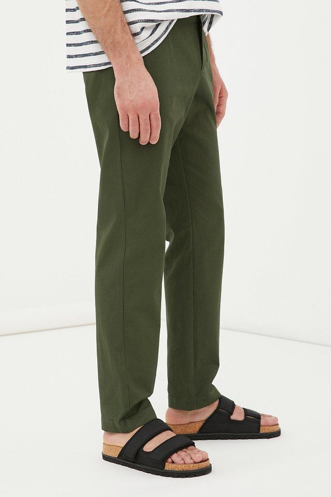 Мужские брюки с зауженным кроем брючин, Модель FAB21020, Фото №3