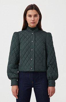Стеганая женская куртка с объемными рукавами FAB110136