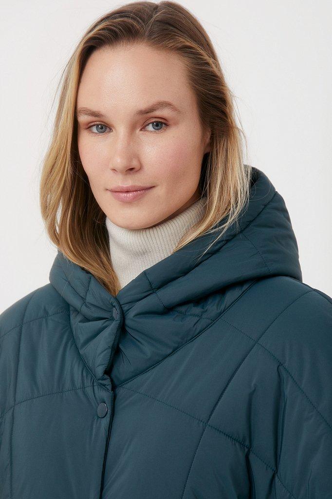 Укороченный женский жилет фасона oversize, Модель FAB110110, Фото №6