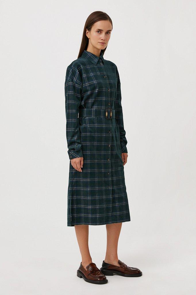 Платье-рубашка женское, Модель FAB110116, Фото №3