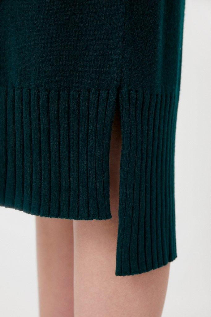 Женское трикотажное платье из шерсти и кашемира, Модель FAB11191, Фото №5