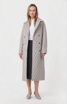 Cтеганое женское пальто с утеплителем FAB110200