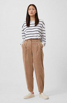 Вельветовые брюки женские кроя багги FAB11049
