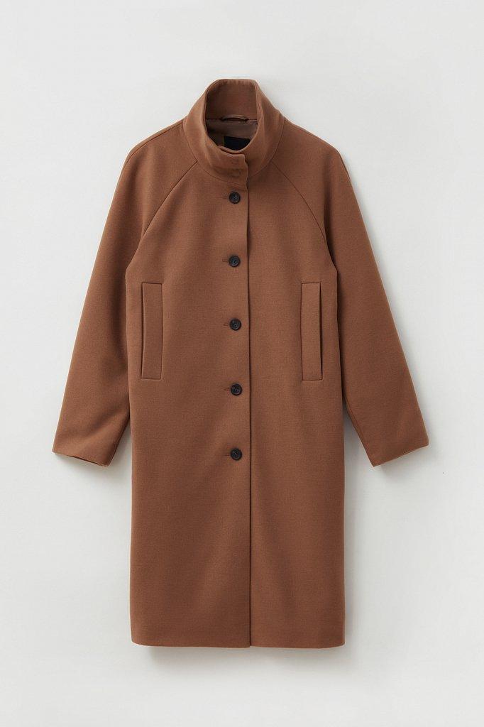 Драповое женское пальто, Модель FAB110209, Фото №7