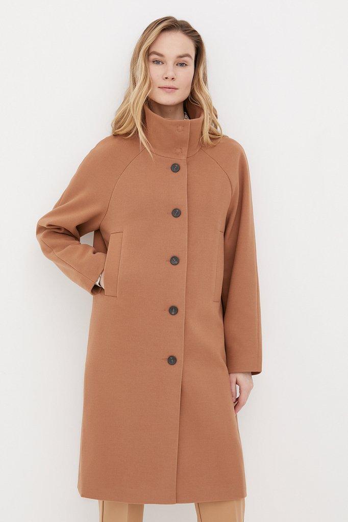 Драповое женское пальто, Модель FAB110209, Фото №2