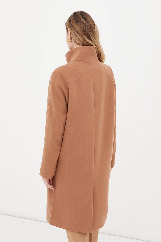 Драповое женское пальто, Модель FAB110209, Фото №4