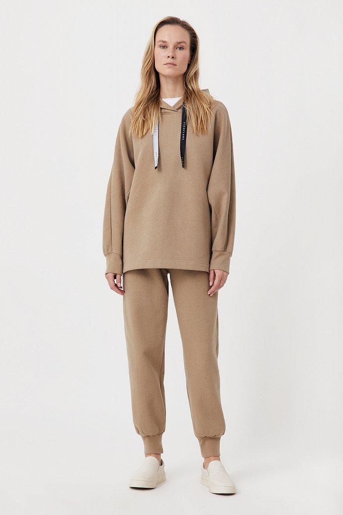 Спортивные женские брюки прямого кроя, Модель FAB11043, Фото №1
