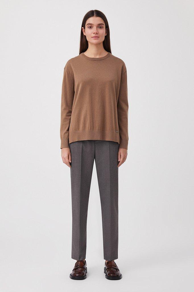 Классические женские брюки со стрелками, Модель FAB11035R, Фото №1