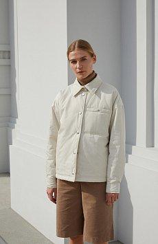 Утепленная женская куртка свободного кроя FAB110194