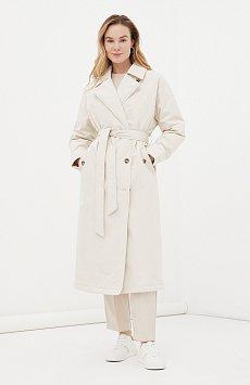 Пальто женское свободного кроя на утеплителе FAB11091