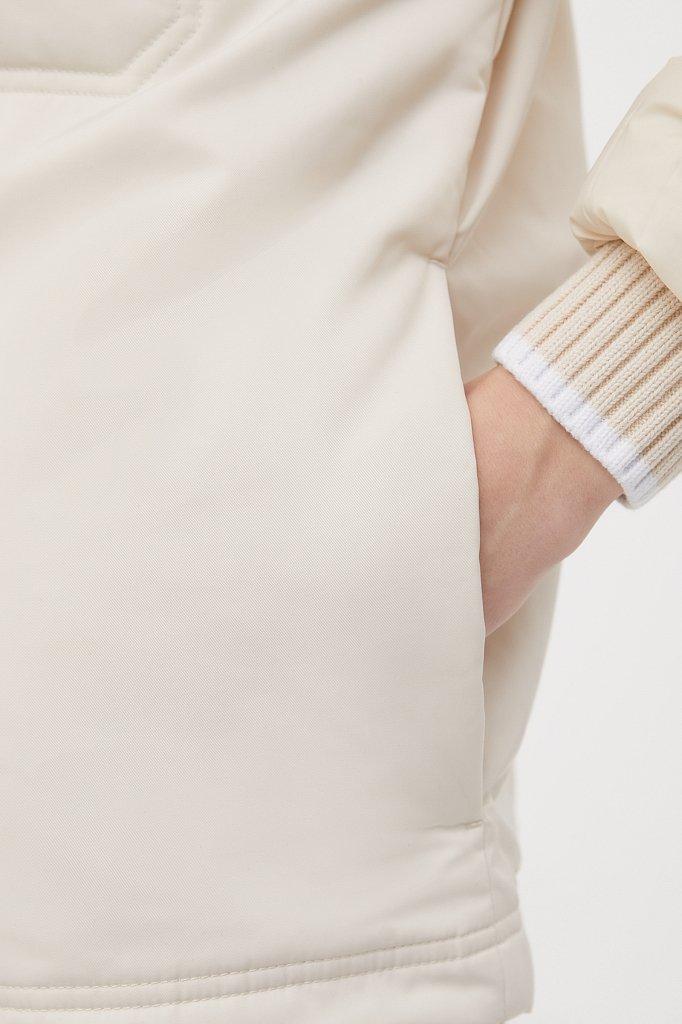 Утепленная женская куртка свободного кроя, Модель FAB110194, Фото №7