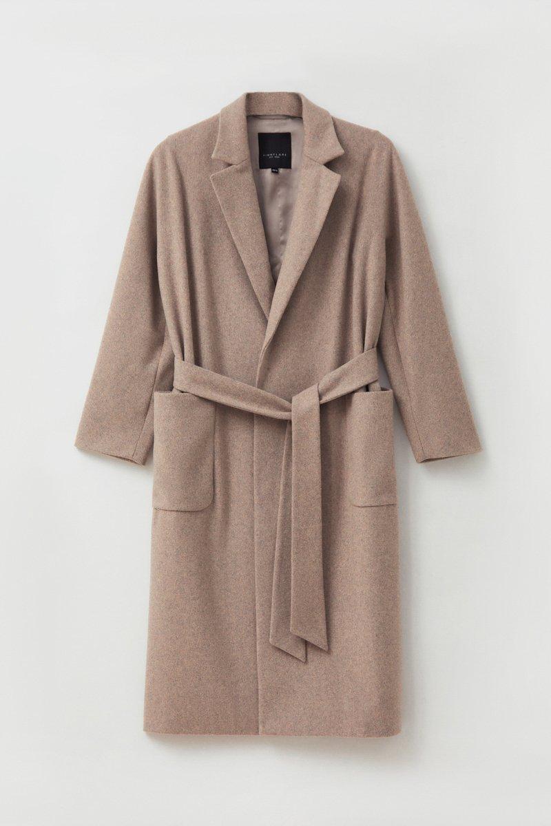 Оверсайз пальто женское с шерстью, Модель FAB11090, Фото №7