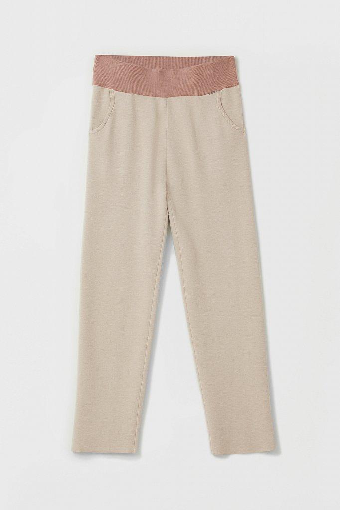 Женские спортивные брюки с резинкой на поясе, Модель FAB11147, Фото №6