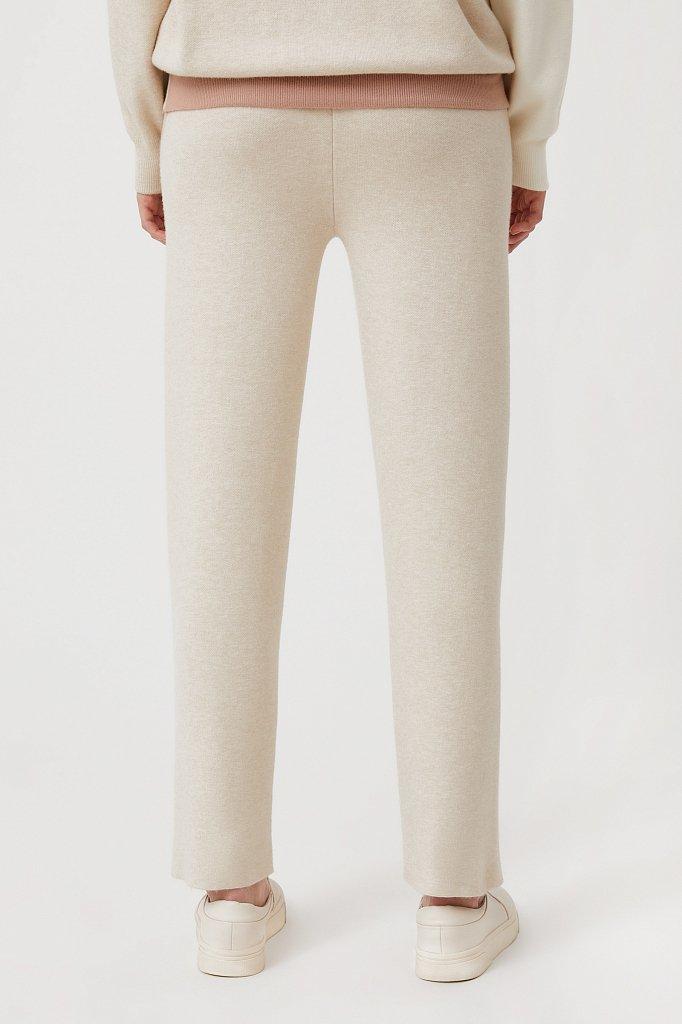 Женские спортивные брюки с резинкой на поясе, Модель FAB11147, Фото №4