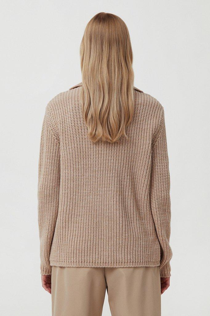 Джемпер женский с шерстью, Модель FAB11168, Фото №4