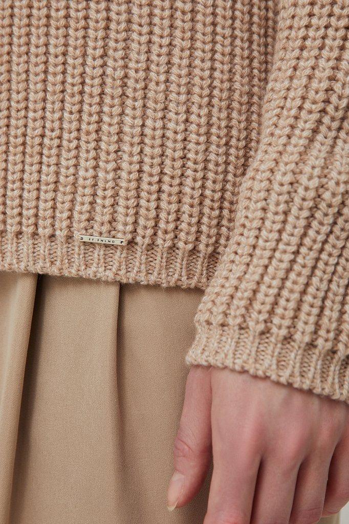 Джемпер женский с шерстью, Модель FAB11168, Фото №5