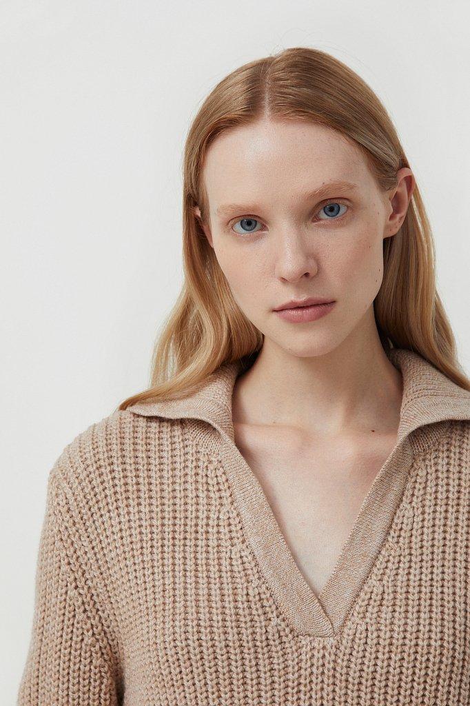 Джемпер женский с шерстью, Модель FAB11168, Фото №6