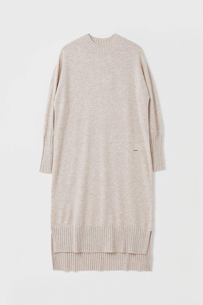 Женское трикотажное платье из шерсти и кашемира, Модель FAB11191, Фото №7