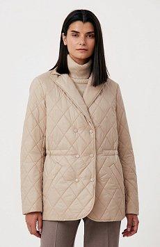 Куртка женская прямого кроя с резинкой на талии FAB110201