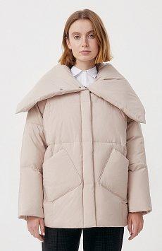 Оверсайз пуховик женский фасона «одеяло» FAB11093