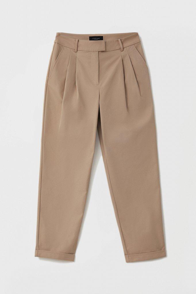 Женские брюки чинос на средней посадке, Модель FAB11010, Фото №6