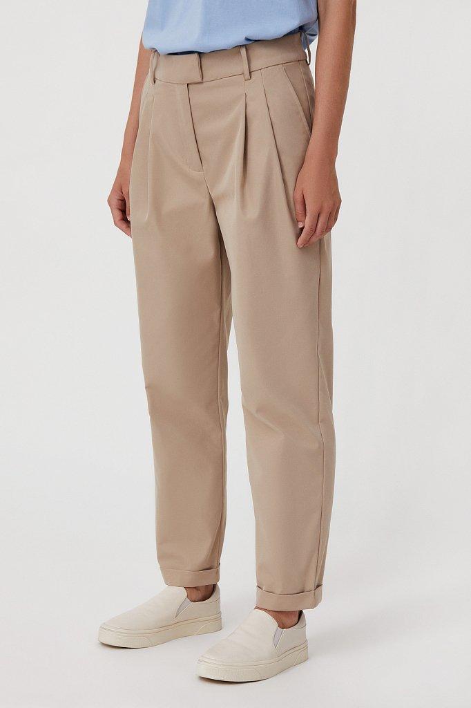 Женские брюки чинос на средней посадке, Модель FAB11010, Фото №3