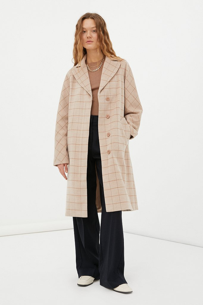 Пальто женское, Модель FAB110185, Фото №2