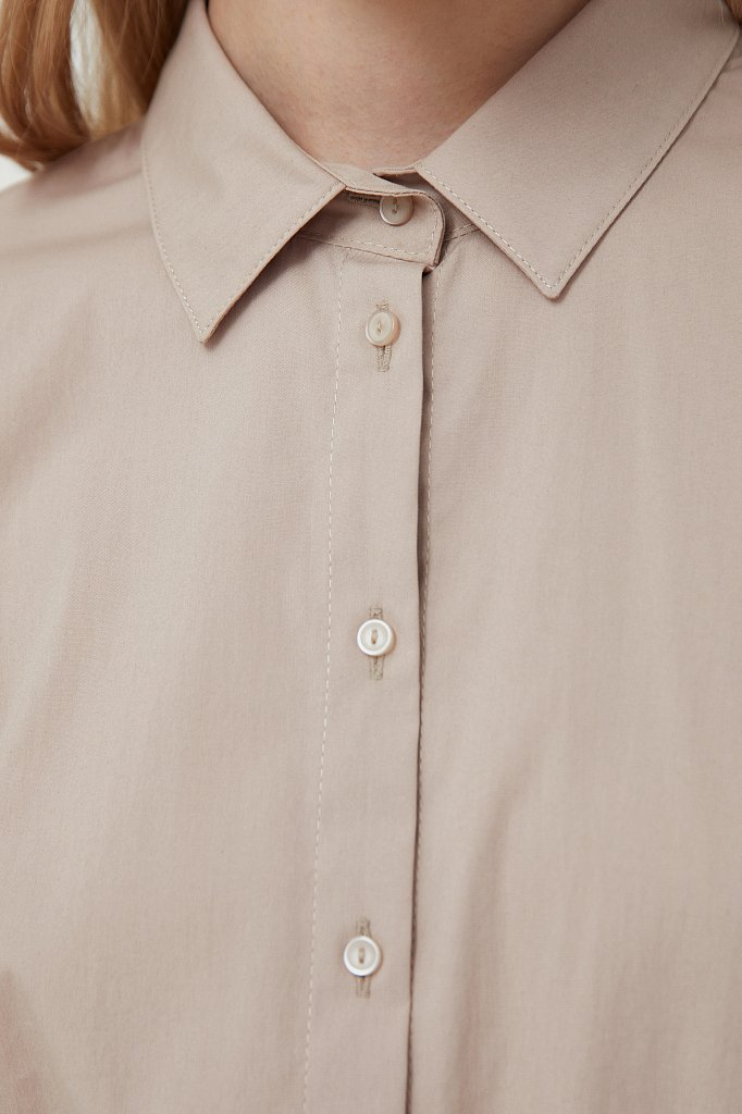 Классическая женская рубашка приталенного силуэта, Модель FAB110224, Фото №5