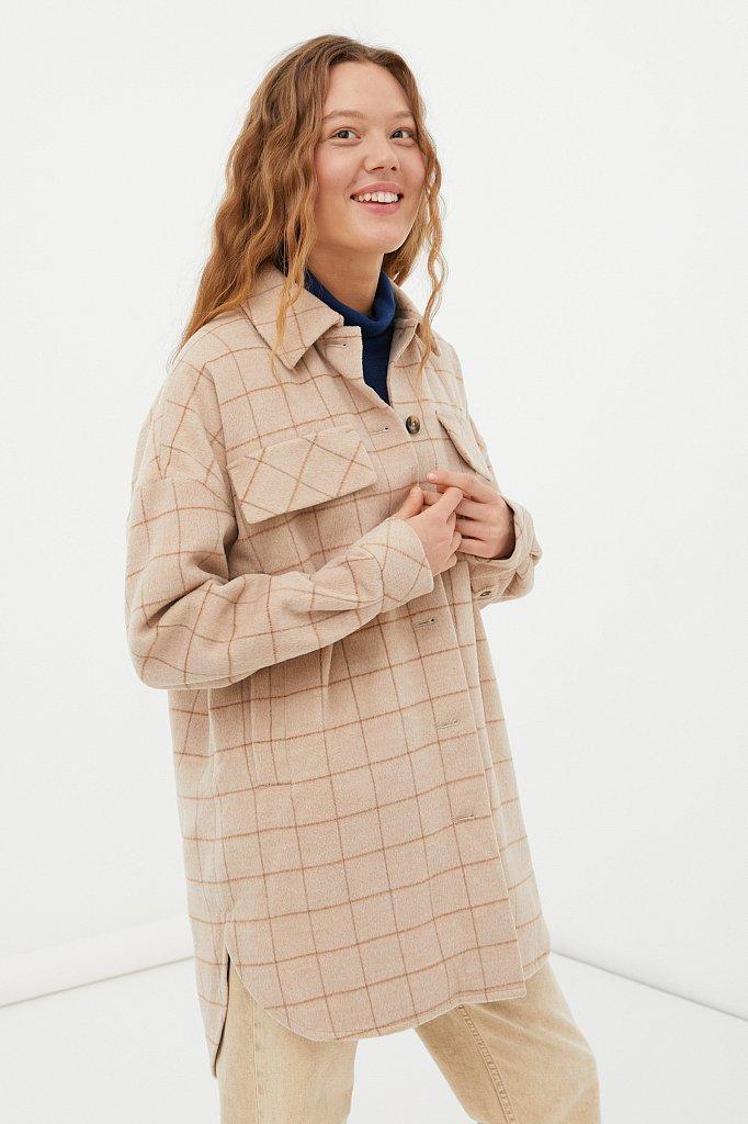 Пальто женское, Модель FAB11040, Фото №3