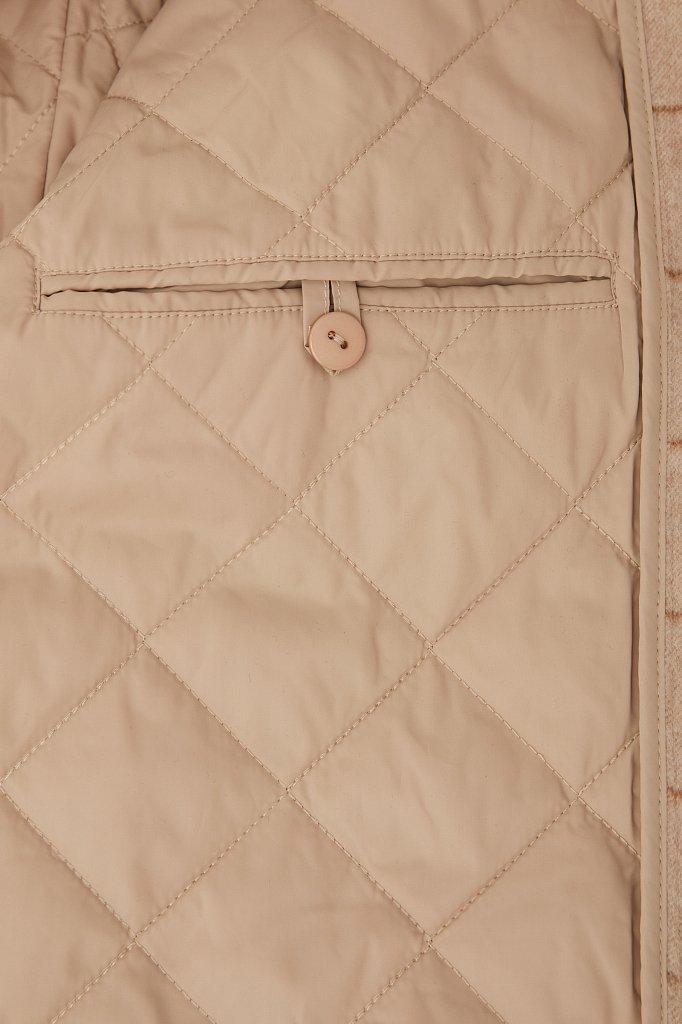 Пальто женское, Модель FAB11040, Фото №4