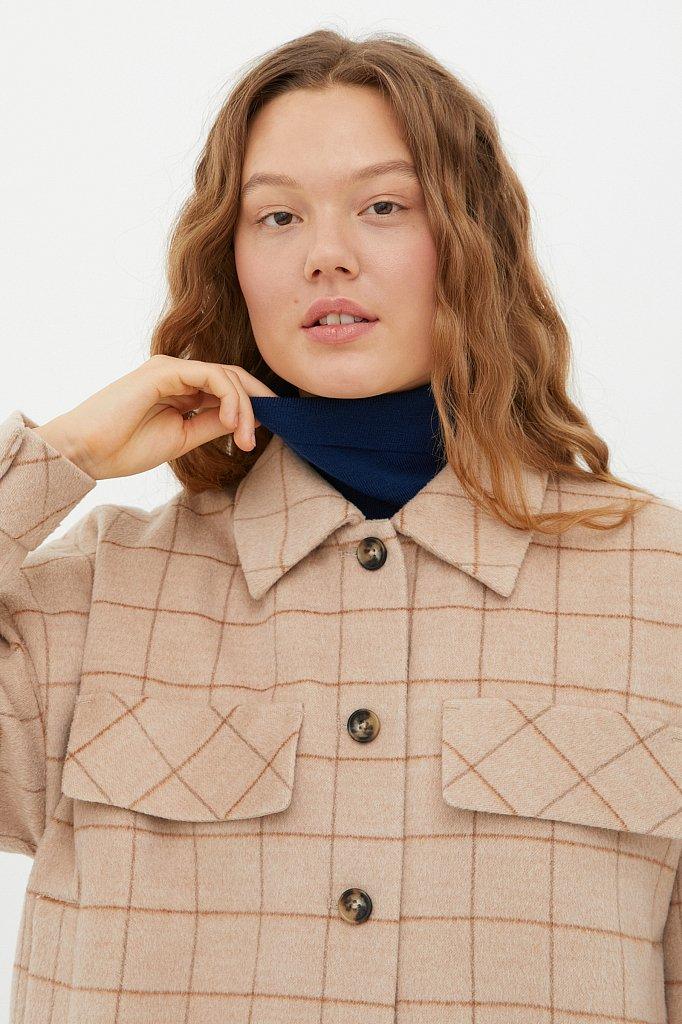 Пальто женское, Модель FAB11040, Фото №6