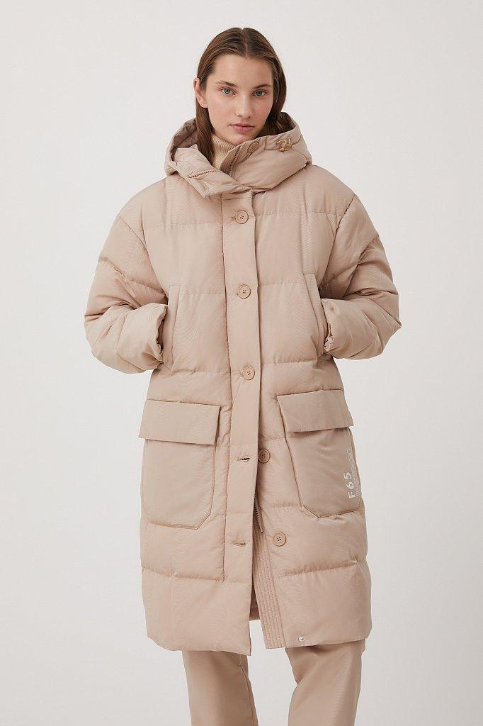Пальто женское, Модель FAB11071, Фото №1