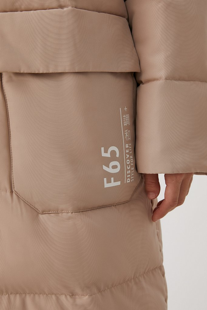 Пальто женское, Модель FAB11071, Фото №8