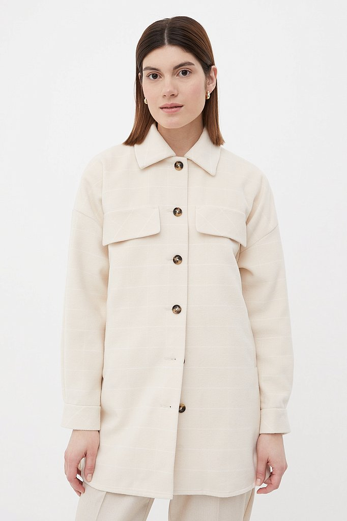 Пальто женское, Модель FAB11040, Фото №1