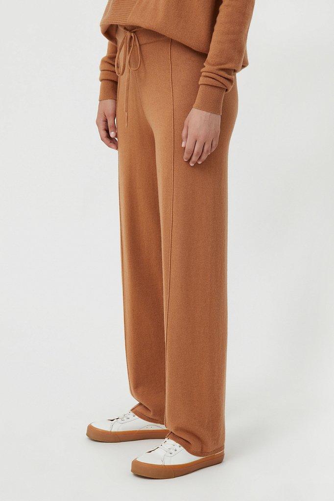 Женские спортивные брюки с шерстью и кашемиром, Модель FAB11187, Фото №3