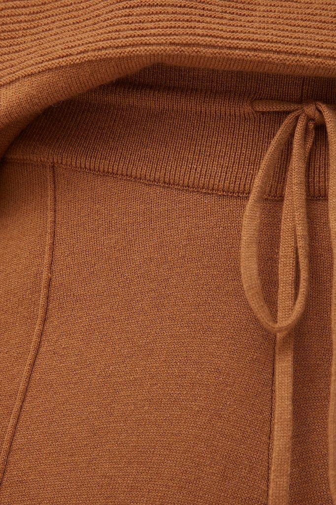 Женские спортивные брюки с шерстью и кашемиром, Модель FAB11187, Фото №5