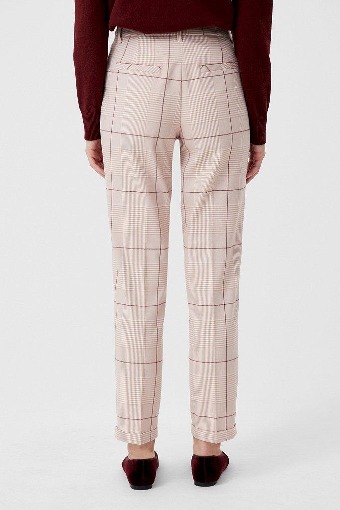 Классические женские брюки в клетку со стрелками, Модель FAB110202, Фото №4