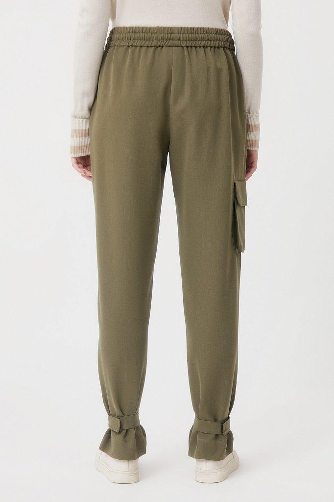 Женские брюки спортивного фасона c патами, Модель FAB110128, Фото №4