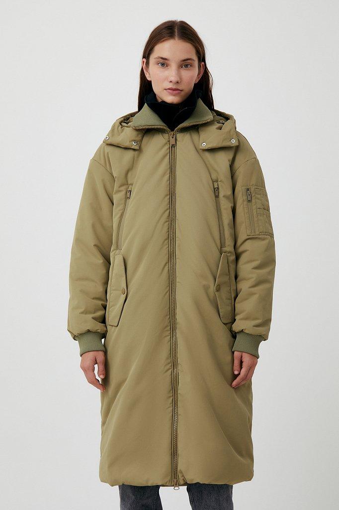Пальто женское, Модель FAB11008, Фото №1