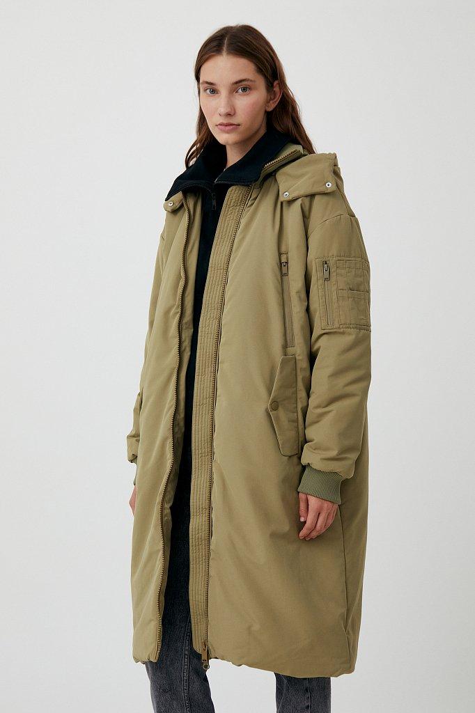 Пальто женское, Модель FAB11008, Фото №3