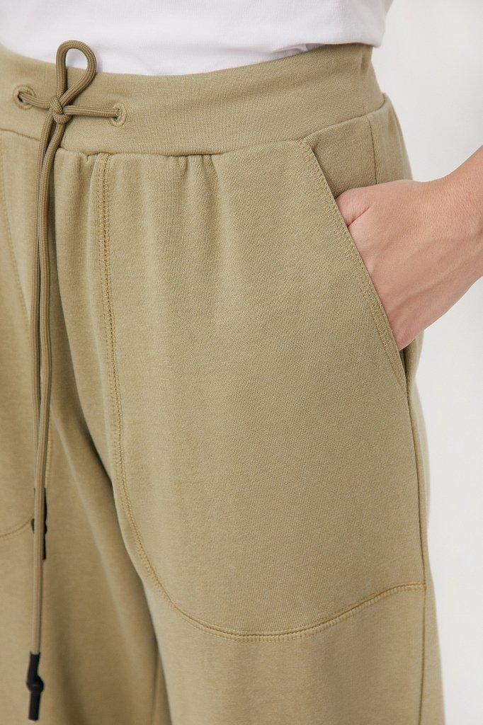 Женские брюки на резинке с манжетами по низу, Модель FAB110178, Фото №5