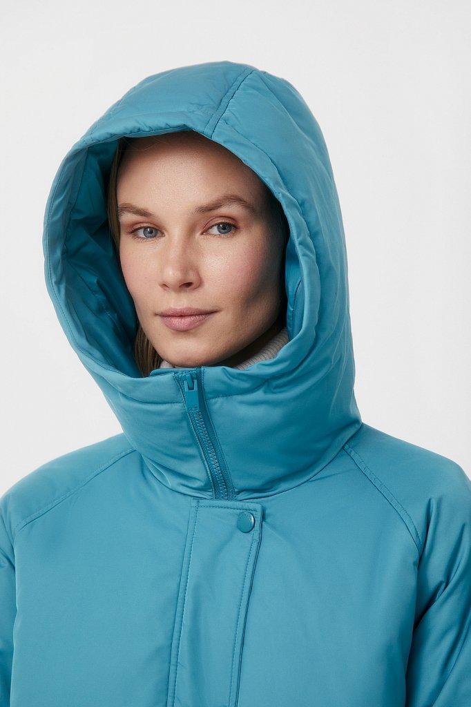 Пуховик женский свободного кроя, Модель FAB110104, Фото №7