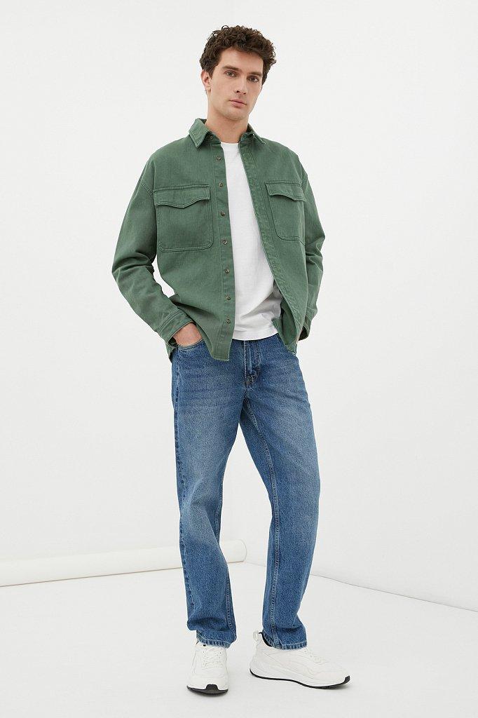Брюки мужские (джинсы), Модель FWB65000, Фото №1