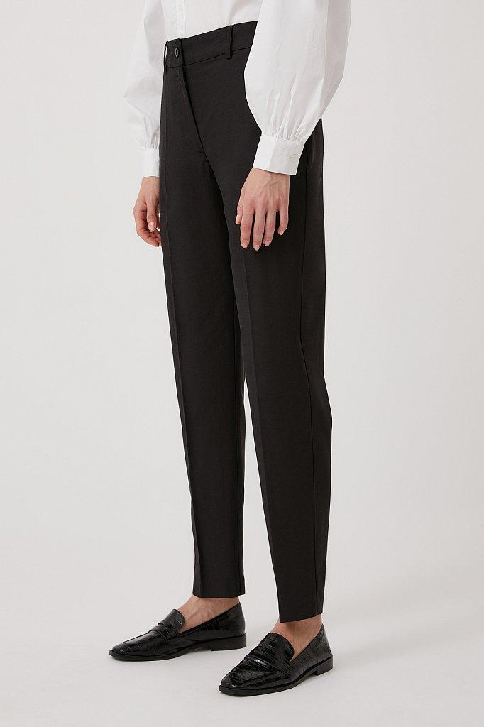 Зауженные женские брюки со стрелками, Модель FWB51036, Фото №3