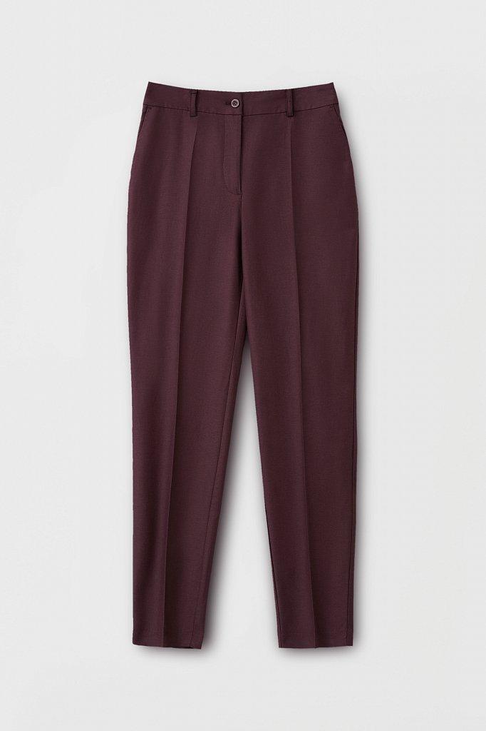 Зауженные женские брюки со стрелками, Модель FWB51036, Фото №6