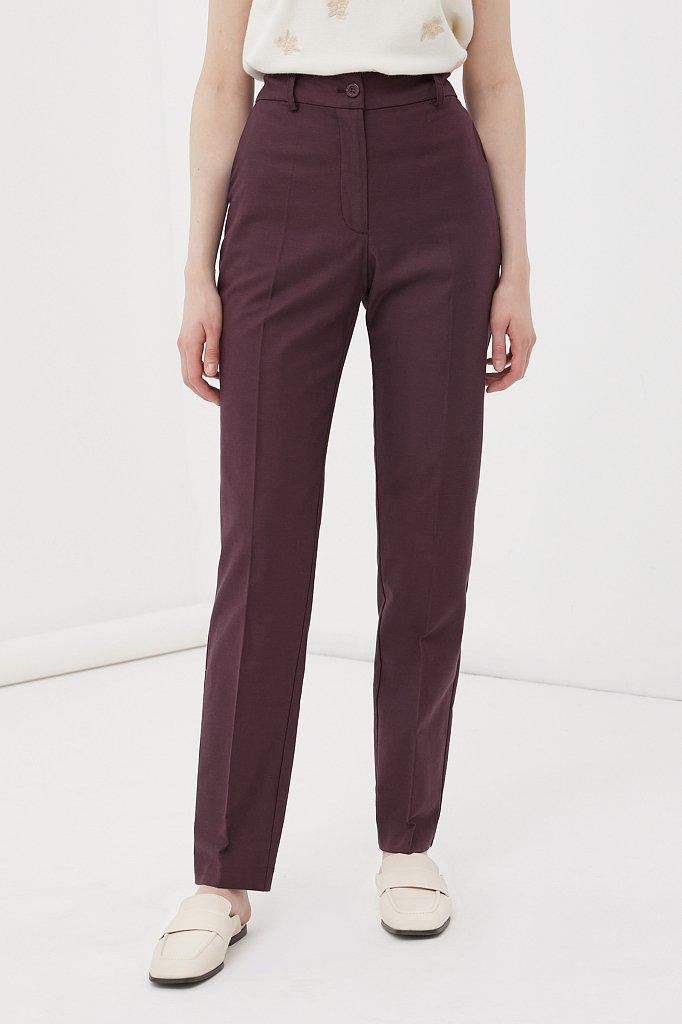 Зауженные женские брюки со стрелками, Модель FWB51036, Фото №2
