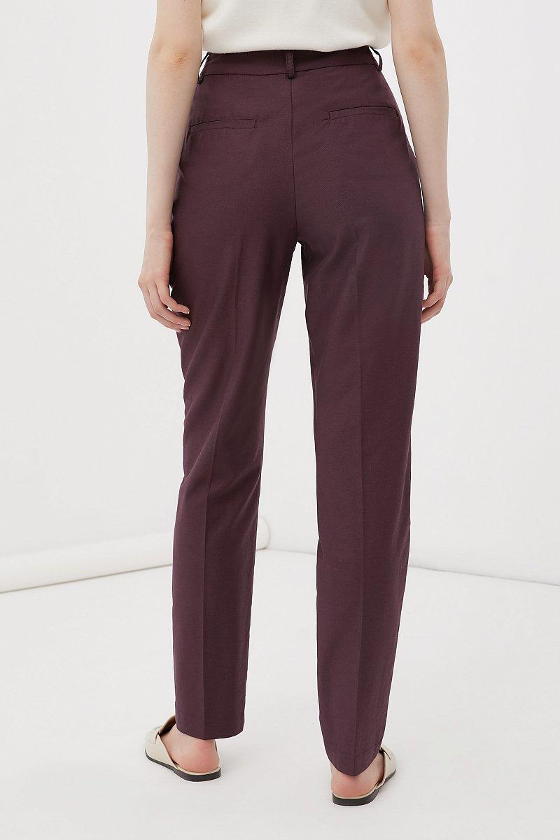 Зауженные женские брюки со стрелками, Модель FWB51036, Фото №4
